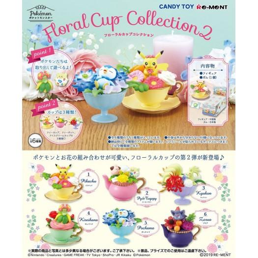 Pokemon - Floral Cup Collection 2 BOX 6 pezzi