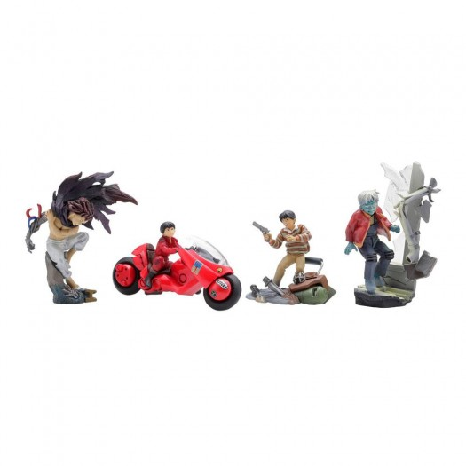 Akira - miniQ Mini Figures Vol. 1 Kaneda BOX 6 Pezzi 5-8cm (EU)