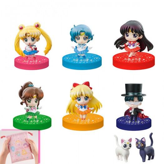 Bishoujo Senshi Sailor Moon - Petit Chara! Puchitto Oshiokiyo! 2020 Ver. BOX 6 pezzi 4,5cm Limited