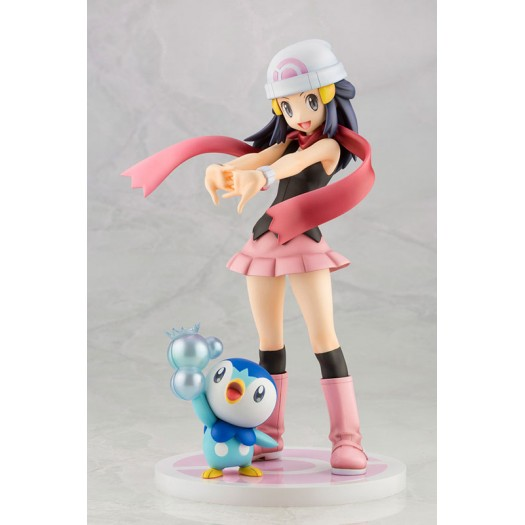 Pokemon Series - ARTFX J Dawn with Piplup 1/8 21 - 6,5cm (JP)
