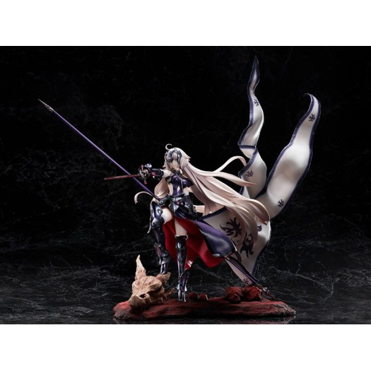 Fate/Grand Order - Avenger / Jeanne d'Arc (Alter) 1/7 Kuraki Homura o Matoishi Ryuu no Majo 46cm (EU)