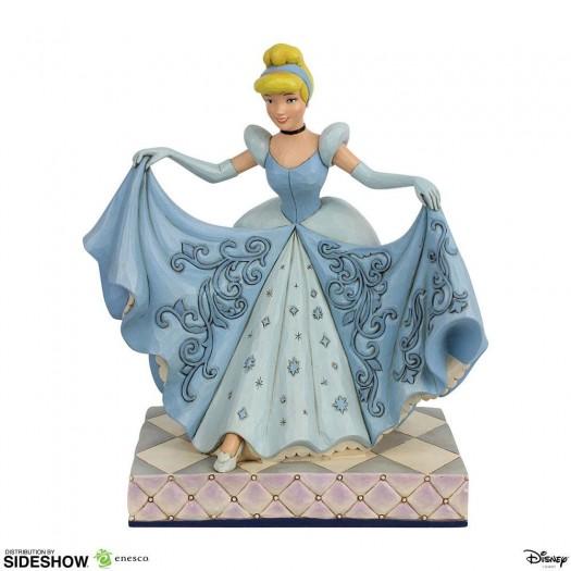 Disney Statue Cinderella Transformation 20cm