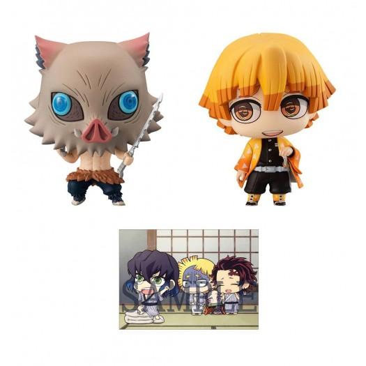 Demon Slayer: Kimetsu no Yaiba - Chimi Mega Buddy Series! No. 012 Agatsuma Zenitsu & Hashibira Inosuke DX Set 6,5cm (EU)