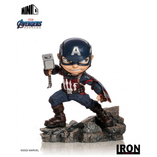 Avengers: Endgame - Mini Co. PVC Figure Captain America 15cm