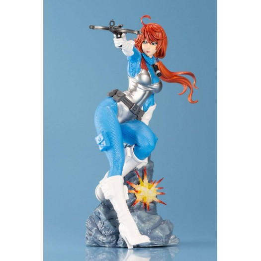 G.I. Joe: A Real American Hero - G.I. JOE Bishoujo Scarlett Sky Blue Limited Edition 1/7 22cm (EU)