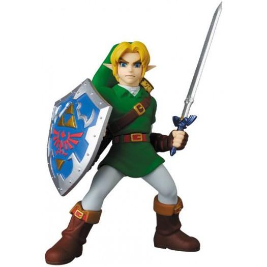 The Legend of Zelda - UDF Mini Figure Link Ocarina of Time Ver. 8cm