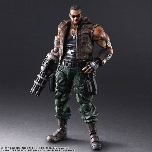 Final Fantasy VII Remake - Play Arts Kai Barret Wallace Ver. 2 28cm (JP)