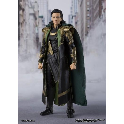 Avengers - S.H. Figuarts Loki 15cm Tamashii Web Exclusive
