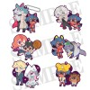 BNA: Brand New Animal - Rubber Mascot Buddy Colle 6,5cm Box 6 pezzi