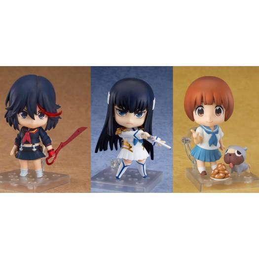 Kill la Kill - Nendoroid Ryuko 407, Satsuki 438 & Mako 408 10cm