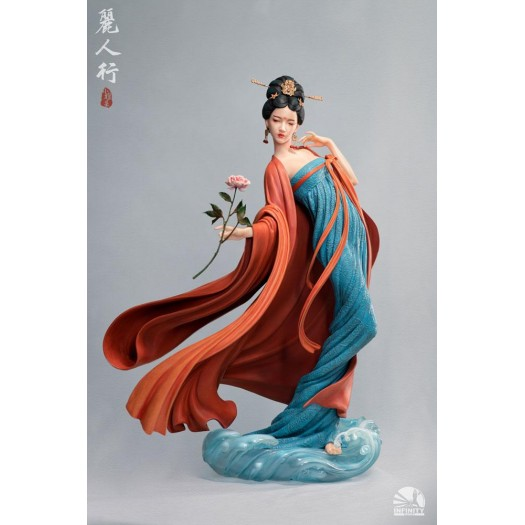 Elegance Beauty Series Statue Satire on Fair Ladies Limited Edition 34cm