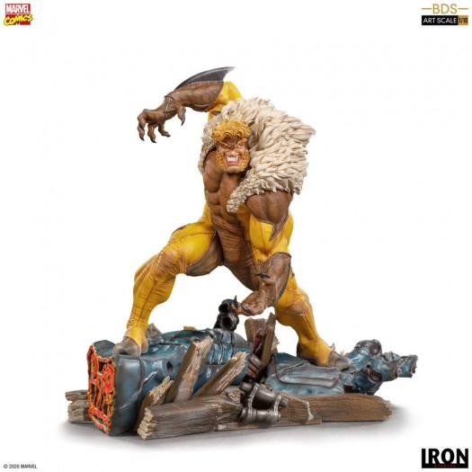 Marvel Comics / X-Men - BDS Art Scale Statue Sabretooth 1/10 21cm