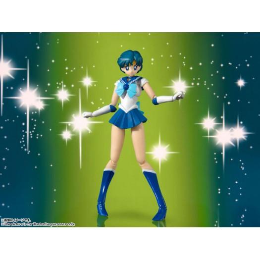 Bishoujo Senshi Sailor Moon - S.H. Figuarts Sailor Mercury -Animation Color Edition- 14cm (EU)