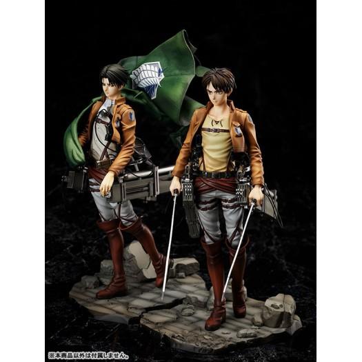 Attack on Titan (Shingeki no Kyojin) - Eren & Levi 1/7 24-26cm (EU)