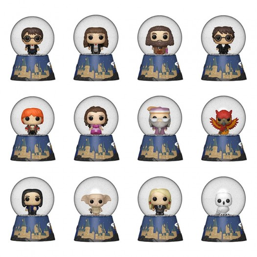 Harry Potter - Mystery Mini Snow Globes BOX 12 pezzi