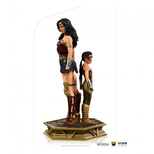 Wonder Woman 1984 - BDS Art Scale Deluxe Statue Wonder Woman & Young Diana 1/10 20cm