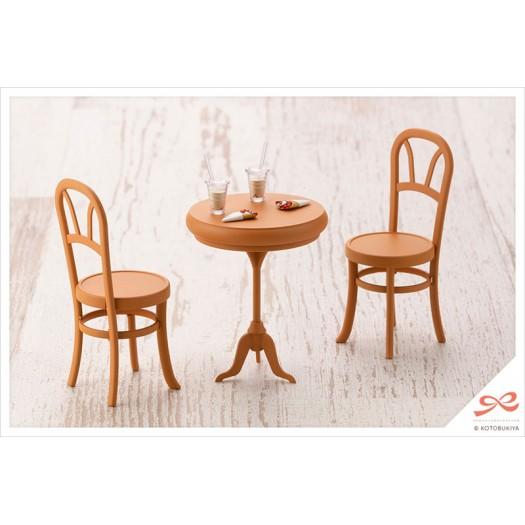 Sousai Shojo Teien - After School Cafe Table Plastic Model Kit 1/10 8,5cm (EU)
