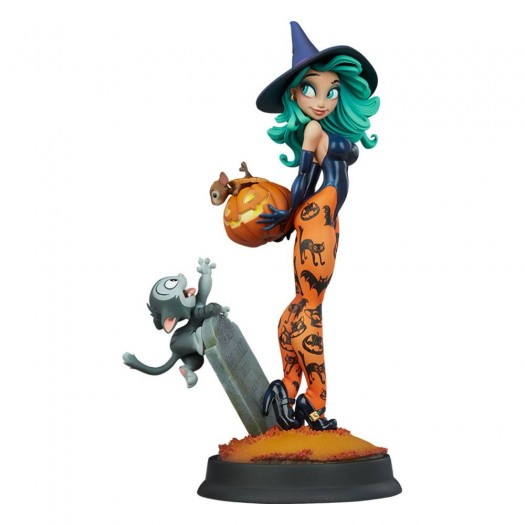 Happy HallowQueens Collection - Pumpkin Witch by Chris Sanders 34cm