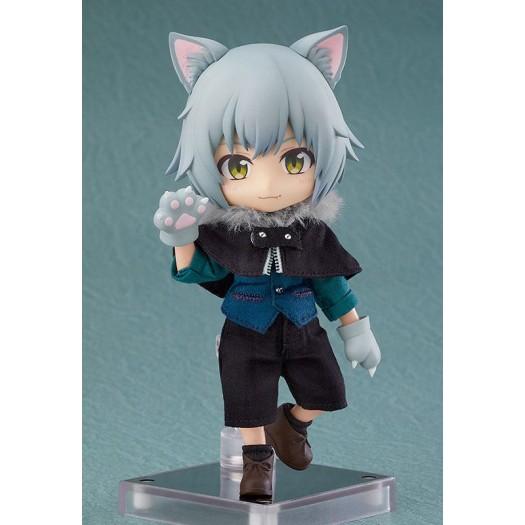 Original Character - Nendoroid Doll Wolf: Ash 14cm (EU)