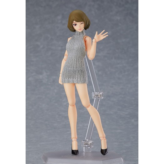 figma Styles figma Female Body (Chiaki) with Backless Sweater Outfit 505 13,5cm (EU)