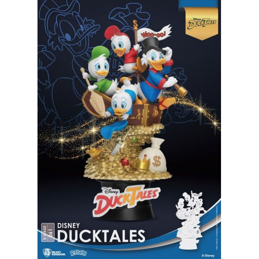 Disney Classic Animation Series - D-Stage 061 Diorama DuckTales 15cm