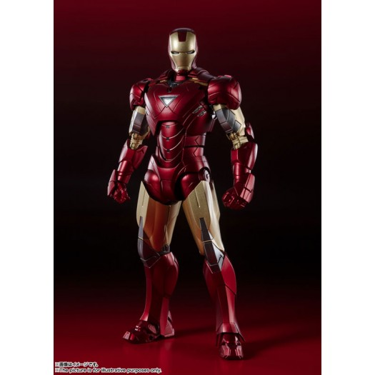 Avengers - S.H. Figuarts Iron Man Mark 6 -BATTLE DAMAGE EDITION- 15cm