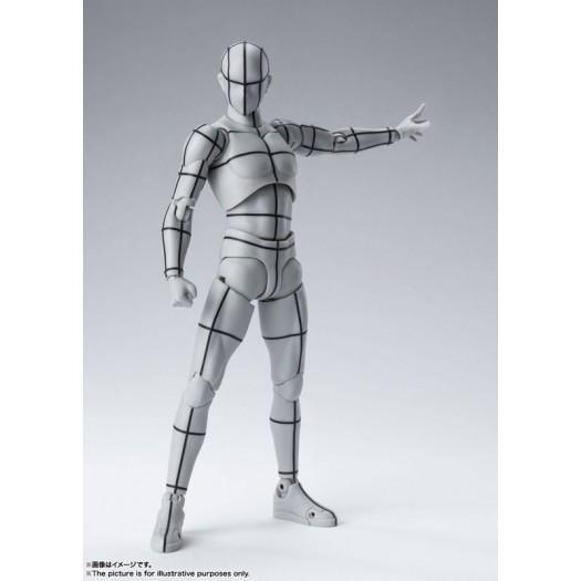S.H. Figuarts Body-kun -Wire Frame- (Gray Color Ver.) 15cm