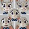 Zootopia - Figure Complex Movie Revo Series No. 008 Judy Hopps 10cm (JP)
