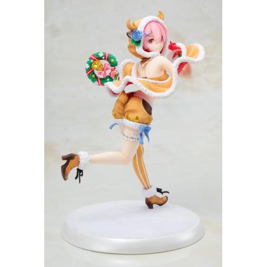 Re:ZERO -Starting Life in Another World- - Ram 1/7 Dokuzetsu Reindeer Maid Ver. 1/7 23,5cm Exclusive