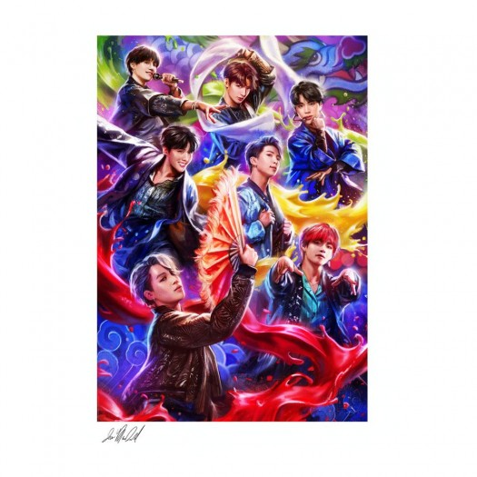 BTS Fine Art Print Idol by Ian MacDonald 46 x 61 cm - unframed