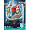 The Little Mermaid - Disney Story Book Series D-Stage 079 Diorama Ariel New Version (Assemble Kit) 15cm