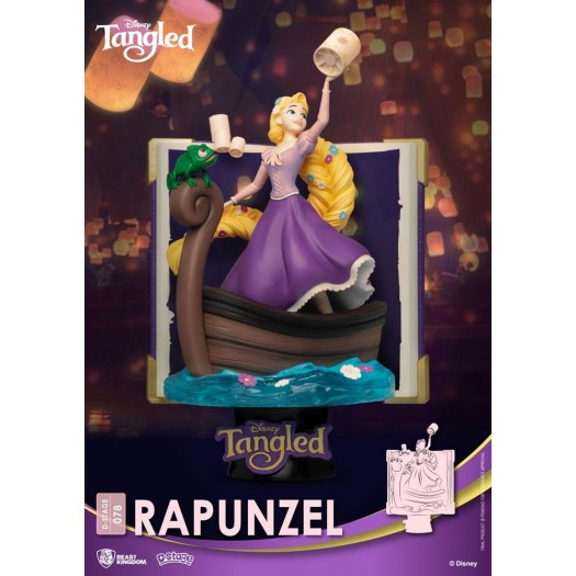 Tangled - Disney Story Book Series D-Stage 078 Diorama Rapunzel New Version (Assemble Kit) 15cm
