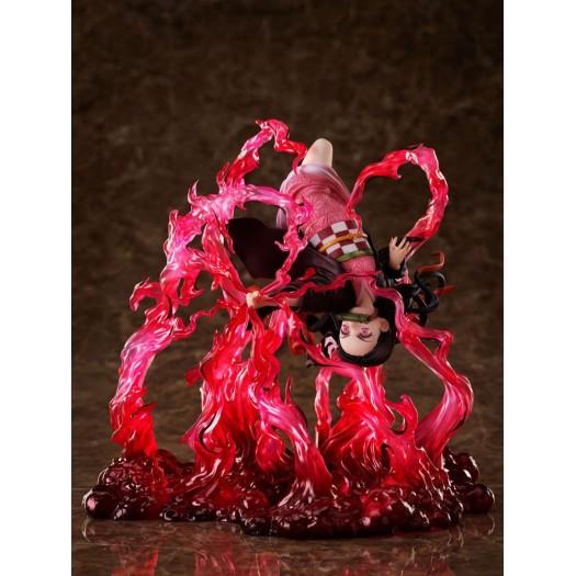 Demon Slayer: Kimetsu no Yaiba - Kamado Nezuko 1/8 Exploding Blood Ver. 20 x 17cm Exclusive