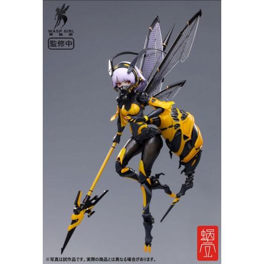 GN Project - BEE-03W Wasp Girl - Bun chan 1/12 16,5cm Plastic Model Kit (EU)