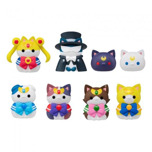 Bishoujo Senshi Sailor Moon - Mega Cat Project Sailor Mewn BOX 8 pezzi 3cm (EU)
