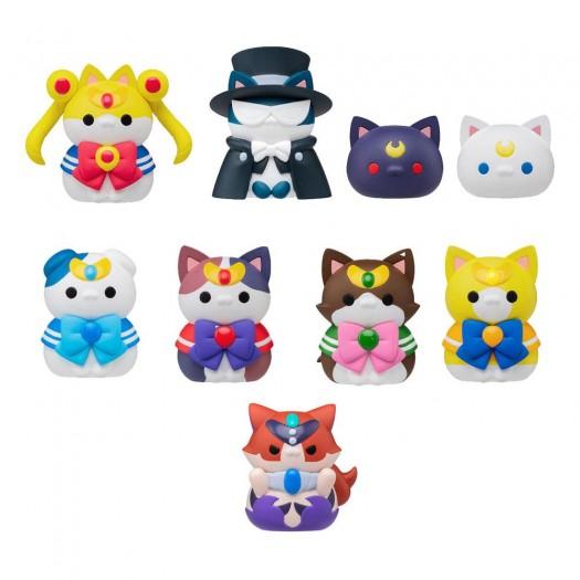 Bishoujo Senshi Sailor Moon - Mega Cat Project Sailor Mewn Special Set BOX 8 pezzi 3cm (EU)