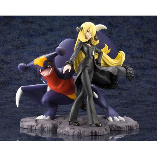 Pokemon Series - ARTFX J Cynthia with Garchomp 1/8 21,3- 20,7cm (JP)