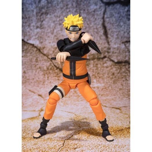Naruto Shippuuden - S.H. Figuarts Uzumaki Naruto -Best Selection- (New Package Ver.) 14cm