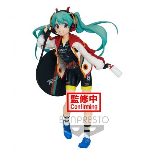 Vocaloid / Hatsune Miku GT Project - Espresto est-Prints & Texture Racing Miku 2020 Team Ukyo 17cm