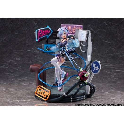 Re:ZERO -Starting Life in Another World- - Rem Neon City Ver. 1/7 27cm Exclusive