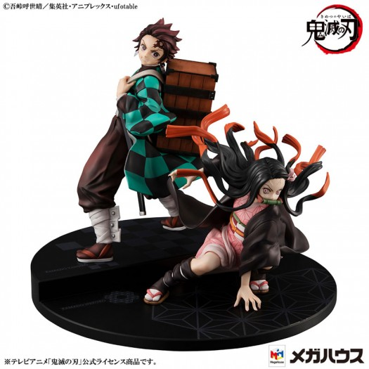 Demon Slayer: Kimetsu no Yaiba - Precious G.E.M. Kamado Tanjiro & Nezuko Brothers Set 17-13cm Exclusive