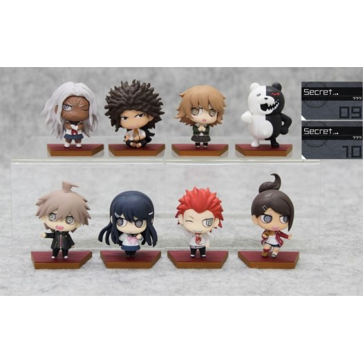 Danganronpa the Animation - Ultra High School Class Chimi Chara Trading Figure Collection Vol. 1 BOX 10 Pezzi (JP)