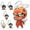 Attack on Titan (Shingeki no Kyojin) - Chimi Shingeki Earphone Jack Mascot BOX 6 Pezzi (JP)