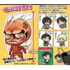 Attack on Titan (Shingeki no Kyojin) - Chimi Shingeki Earphone Jack Mascot BOX 6 Pezzi 4 / 20 cm (JP)