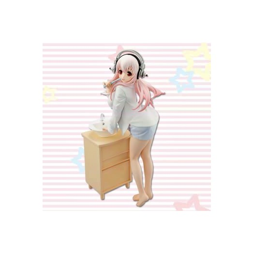 Nitro Super Sonic - Sonico - In the morning Teeth-Brushing ver. 20 cm