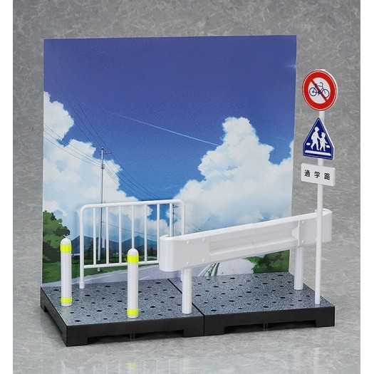 figmaPLUS: School Route Set (1/12 scale approx) Plastic Kit (JP)