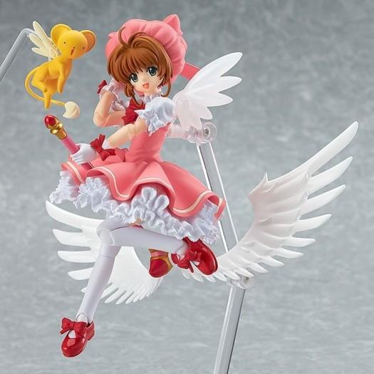 Cardcaptor Sakura - figma 244 Kinomoto Sakura & Kero-chan 12cm (JP)