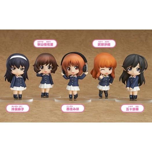 GIRLS und PANZER - Nendoroid Petit Ankou Team Ver. BOX 5 Pezzi 6,5cm (JP)