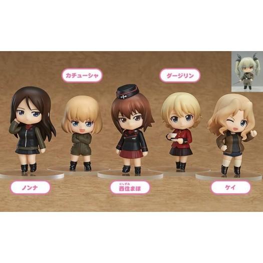 GIRLS und PANZER - Nendoroid Petit Other High Schools Ver. BOX 6 Pezzi 6,5cm (JP)