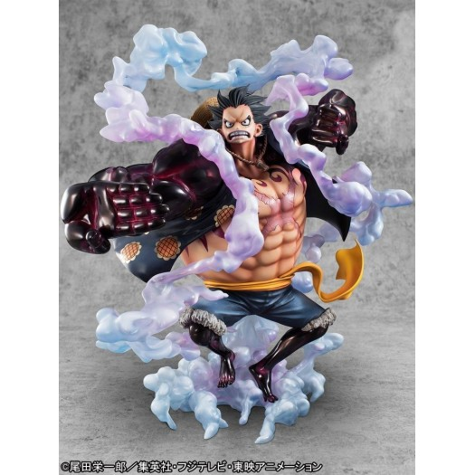 "One Piece - P.O.P. Limited Edition ""SA-MAXIMUM"" Monkey D. Luffy 1/8 -Gear Fourth- 30cm Exclusive"